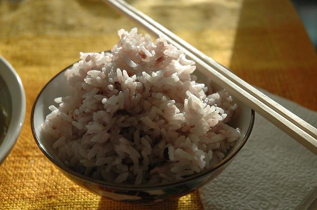 Ryż w diecie sportowca