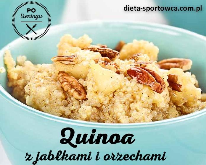 Quinoa z jabłkami – po treningu + kwas fitynowy posiadający zalety, o których nikt nie mówi.