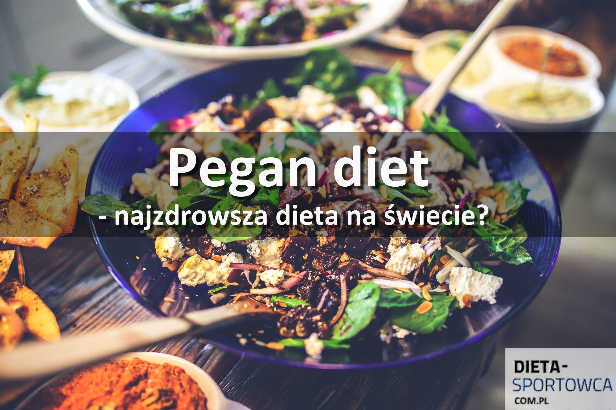 Pegan diet - Najzdrowsza dieta na świecie?