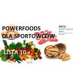 Powerfoods dla sportowców