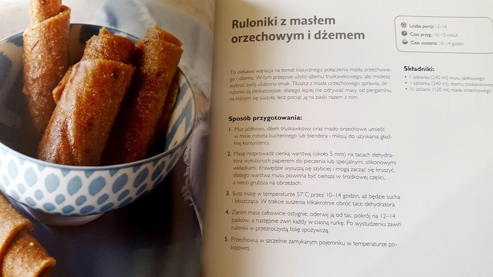 Bananowo-orzechowe ruloniki